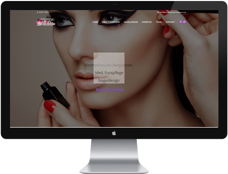 Webdesign kosmetik