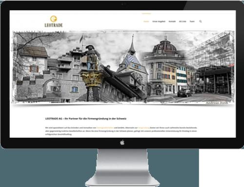 Webdesign LEOTRADE