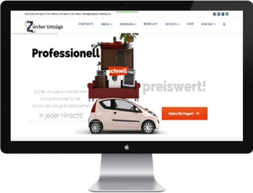 Webdesign Umzugsunternehmen