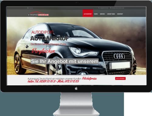 Autoankauf Webdesign