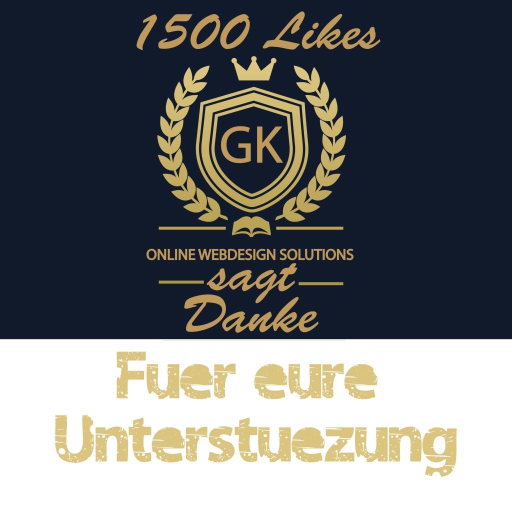 1500 Facebook Likes