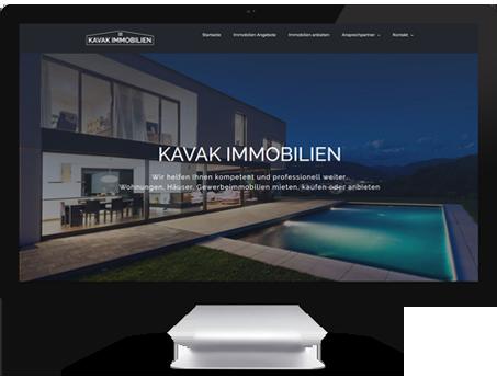 Immobilien Webdesign