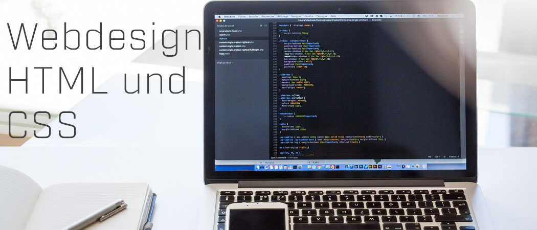 Webdesign, HTML und CSS